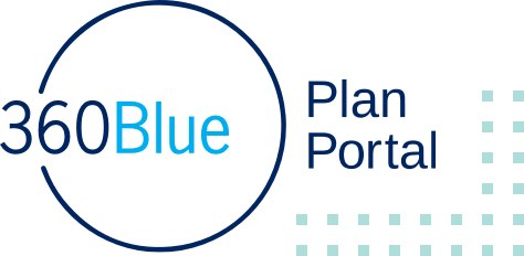 360Blue Plan Portal logo